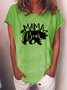 Mother's Day Mama Bear Arrow Graphic Tee